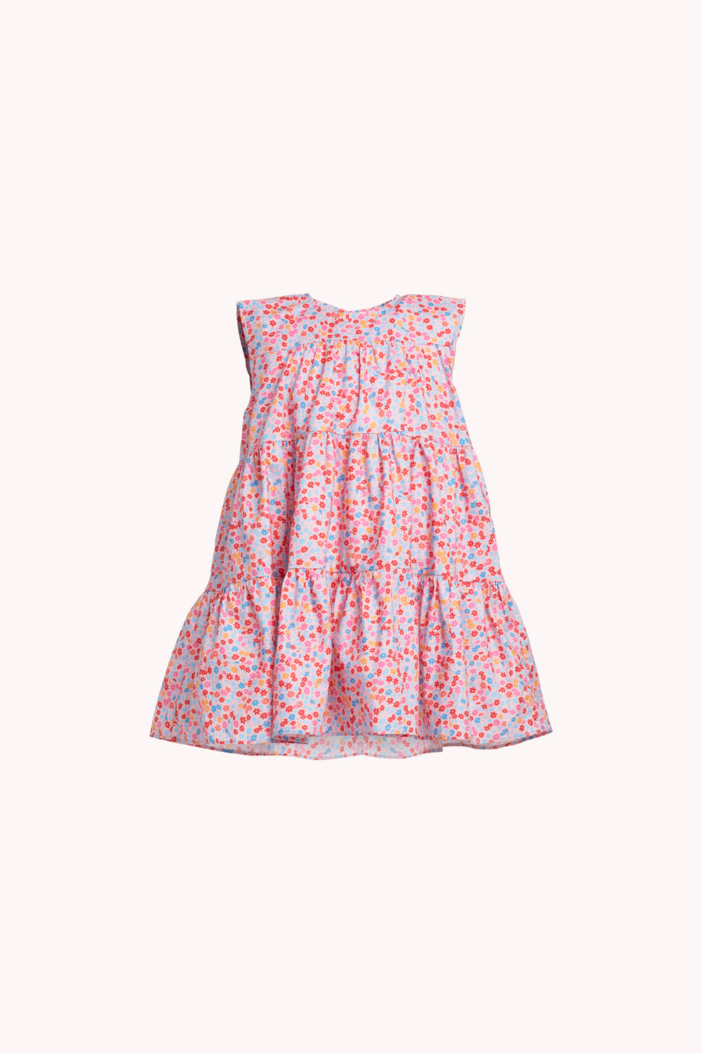 Lizzie Dress | Pink Ditsy Floral