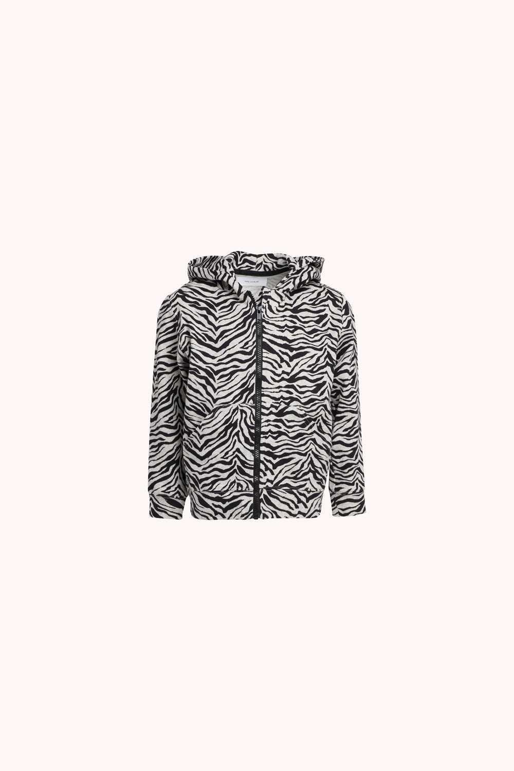 Hoodie | Heather Gray Zebra