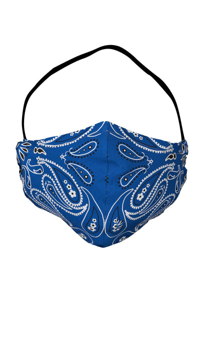 Face Masks | Navy Bandana