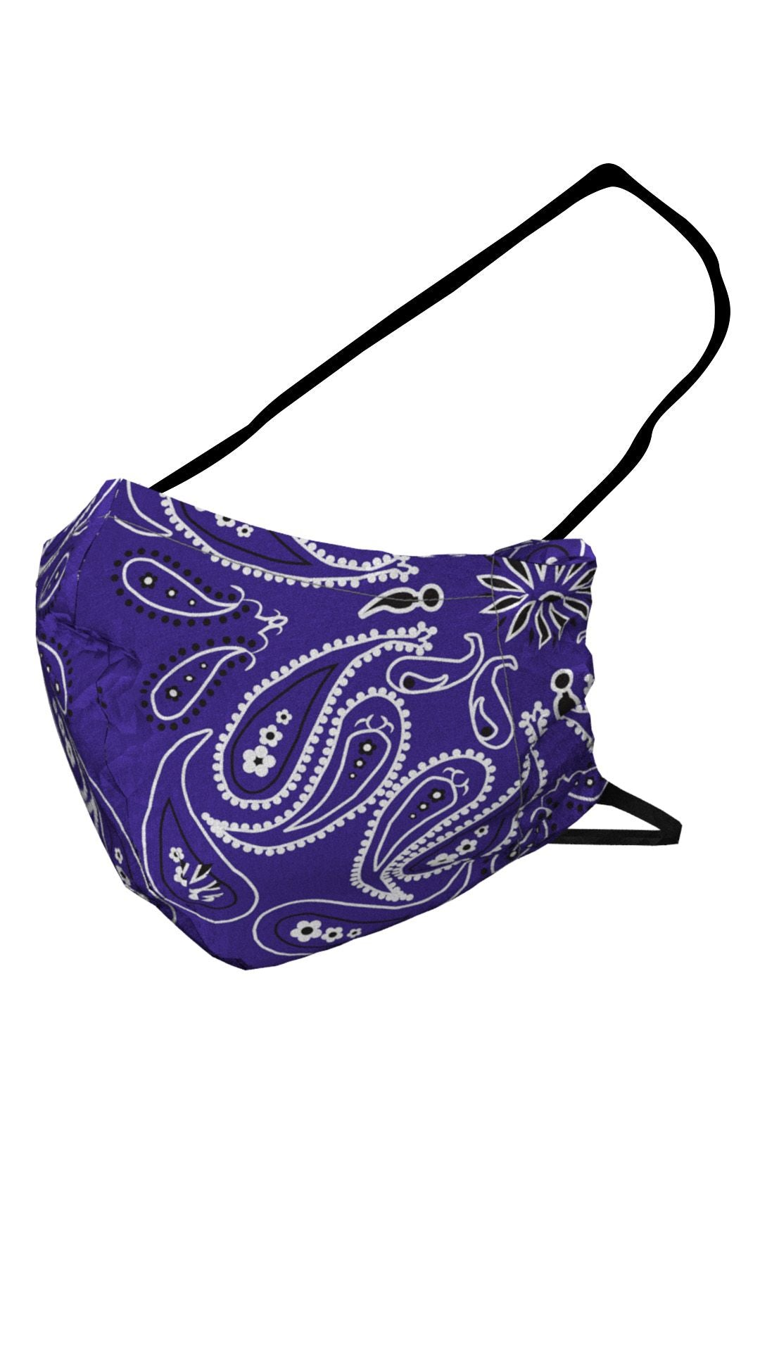 Face Masks | Purple Bandana