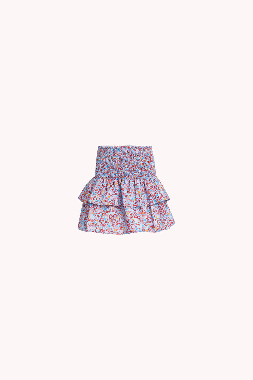 Amari Skirt | Baby Blue Ditsy Floral
