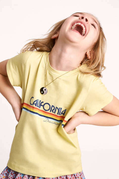 Cali Retro T | Citrus Yellow