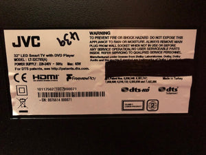 "JVC LT-32C675 32"" 720p HD dvd Smart TV 3months warranty"