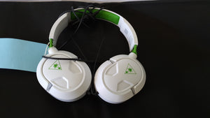 White Turtle Beach Recon 50X Headphones. Do not work with mic ideal as headphones