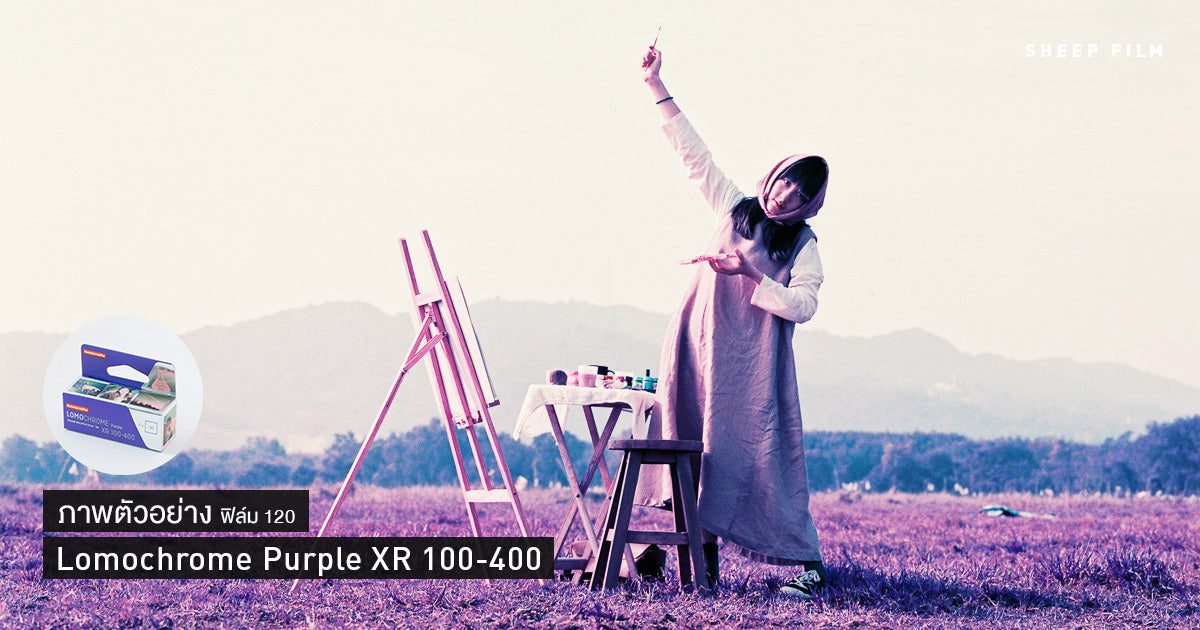 Lomochrome Purple
