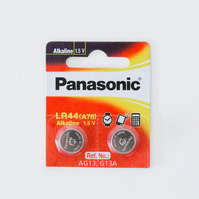 ถ่าน LR44 Panasonic 1.5V (2 pcs)