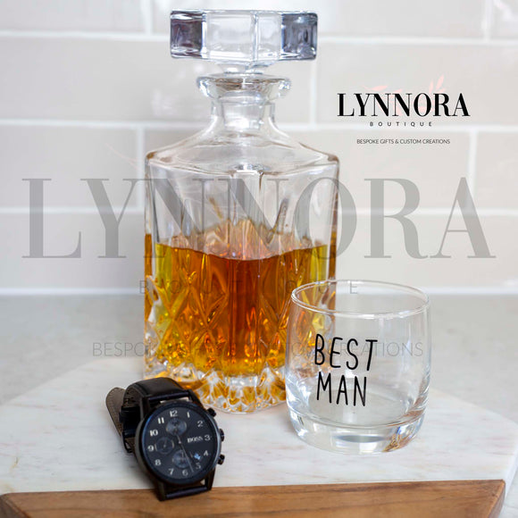 Personalised Scotch Glass
