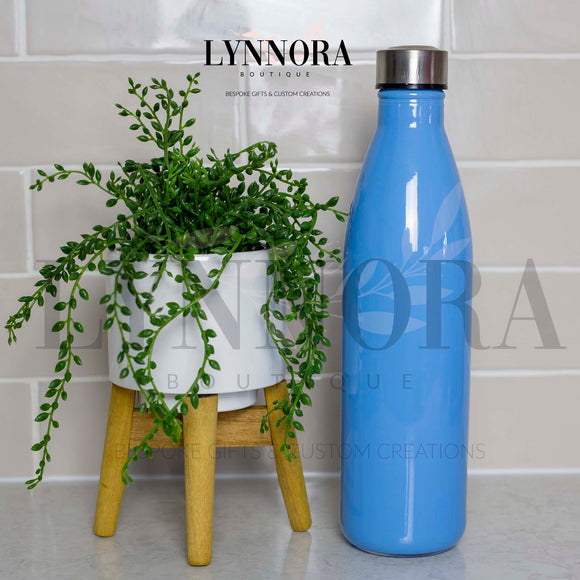 Glass 1 Litre Personalised Drink Bottle
