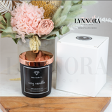 Valley Candle Co - Hand Poured Candles Black & Rose Gold