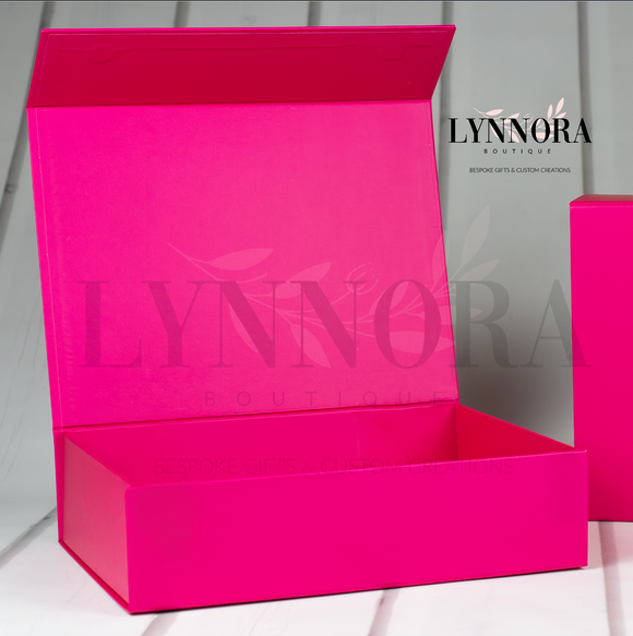 XXL Personalised Gift Box - Pink