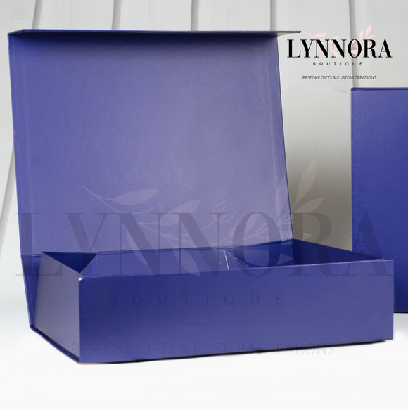 XXL Personalised Gift Box - Navy