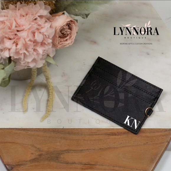 Monogramed Card Holder