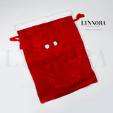 Santa Sack - Red Velvet - Large