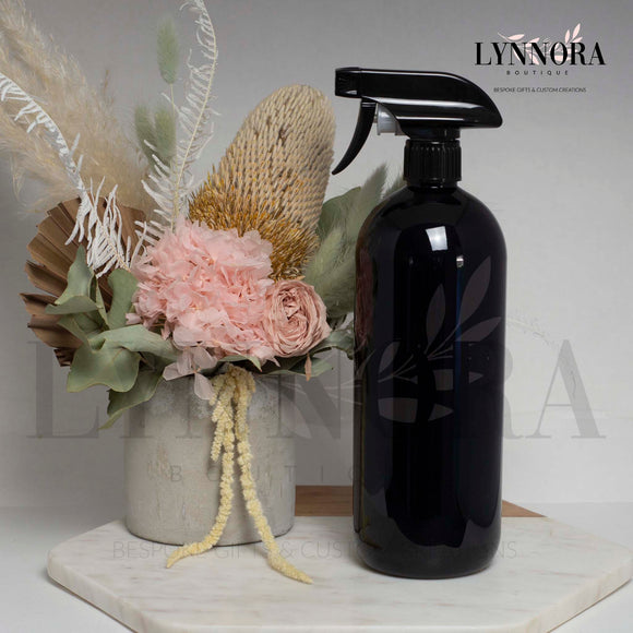 Reusable Spray Bottle - Black