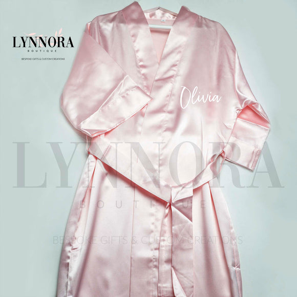Kids Satin Bridal Robes
