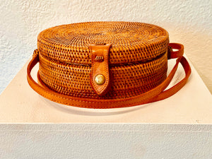 This lovely woven purse from Bali has an exotic beautiful lining to brighten up your day!