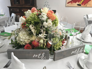 beautiful wedding flower centerpiece floral arrangement for wedding san Diego