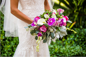 beautiful bridal bouquet delivery san diego