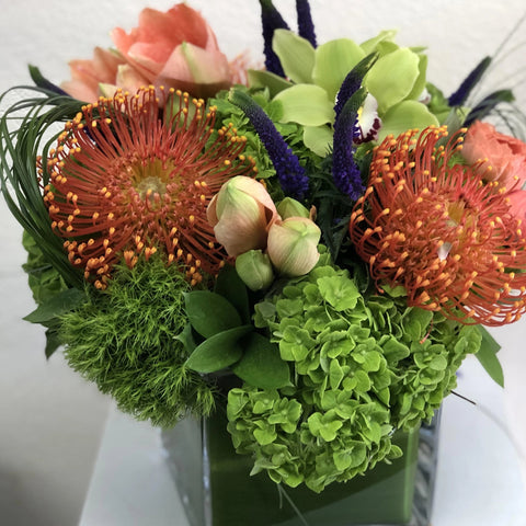 san diego unique floral arrangement same day delivery