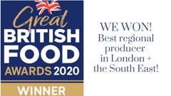 We won a Great British Food Award!