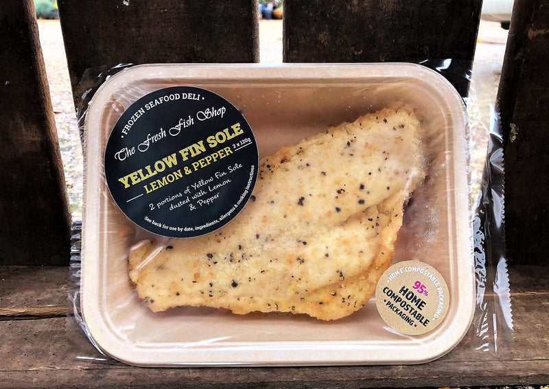 DUSTED LEMON & PEPPER YELLOW FIN SOLE (FROZEN)