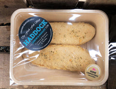 Frozen Lighty Dusted Lemon & Parsley Haddock (280g)