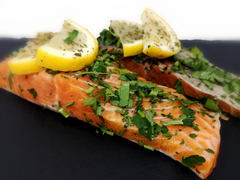 ChalkStream Trout Fillets with Lemon & Parsley