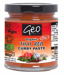 Organic Red Thai Curry Paste (180g)