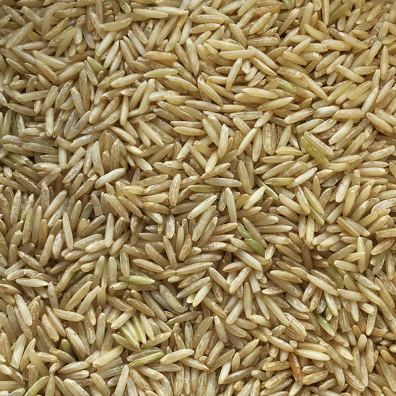 Organic Long Grain Brown Rice (500g)