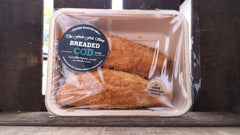 Frozen Breaded Cod Fillets (480g)