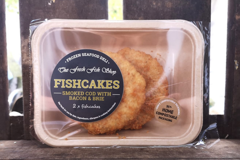 Frozen Smoked Cod, Bacon & Brie Fishcakes