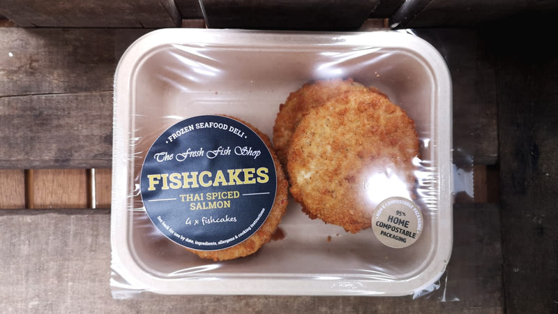Frozen Thai Spiced Salmon Fishcakes (170g)
