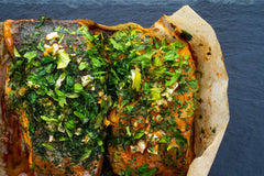 Coley Marinated in Paprika, Garlic & Parsley (260g)