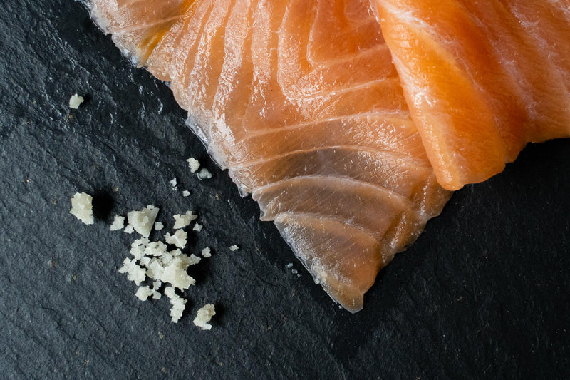 SMOKED SALMON LONG SLICE