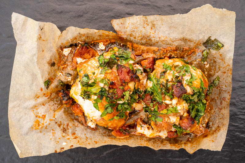 Oven-Ready Monkfish with Chorizo, Garlic & Paprika