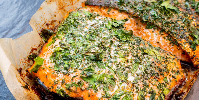 ChalkStream Trout with Paprika & Mixed Herb