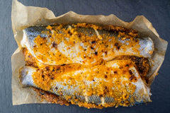 OVEN READY SEABASS WITH SWEET CHILLI & LIME