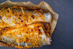 Oven-Ready Whole Seabass with Chilli & Lime (450g)