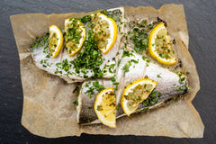 OVEN READY SEABREAM WITH LEMON & PARSLEY
