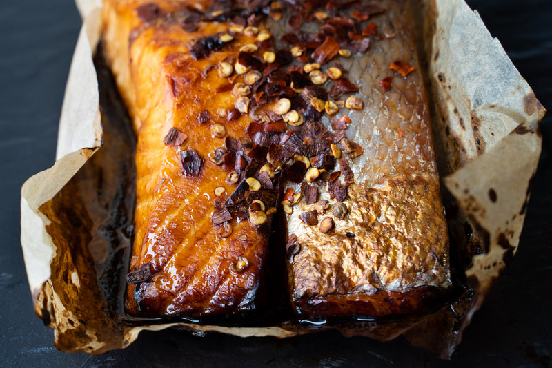 Honey Soy Glazed Trout Fillets (260g)