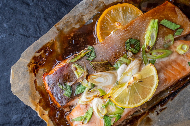Teriyaki Salmon Fillets (260g)