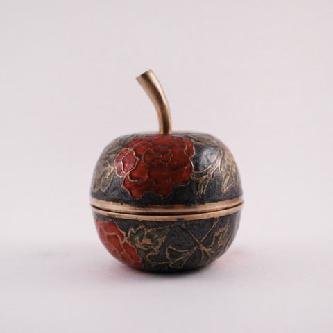 Apple (floral brass)