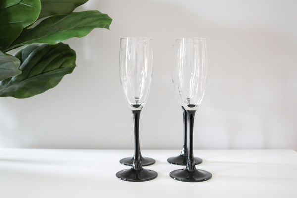 Champagne Flutes (4)