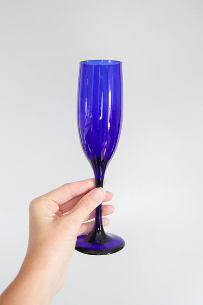 Coloured Champagne Flutes