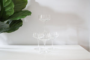 Crystal Cocktail Coupes (4)