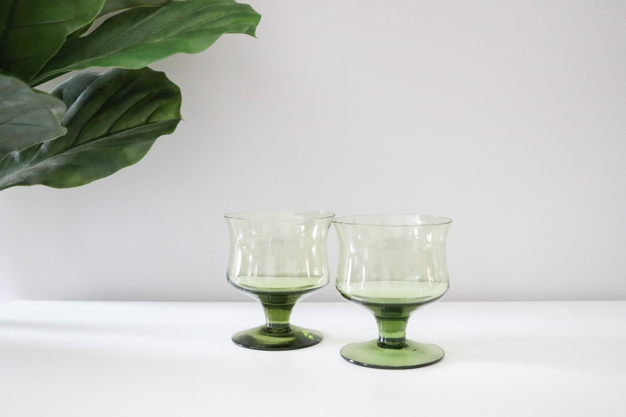 Coloured Cocktail Glasses