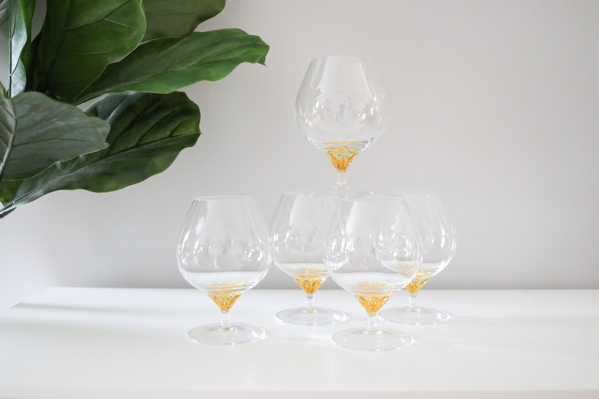 Crystal Cocktail Glasses (5)