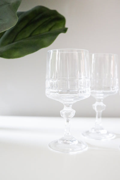 Crystal Cordial Glasses (4)