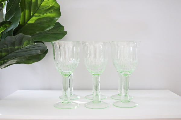 Coloured Wine Glasses