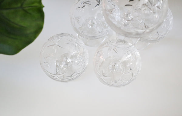 Crystal Coupe Glasses (5)